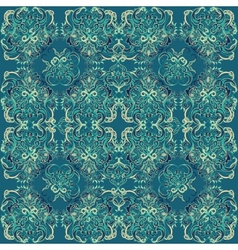Seamless abstract floral pattern 8 vector image