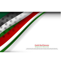 uae wave background vector image