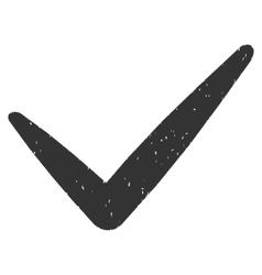 Valid Icon Rubber Stamp vector image