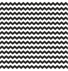 Zig zag chevron wrapping tile black white pattern vector