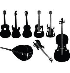 Music instruments 2 vector