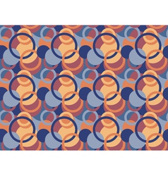 pattern made of circles and rings vector image vector image