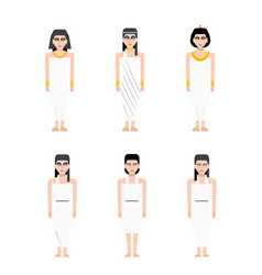 Ancient egypt woman vector