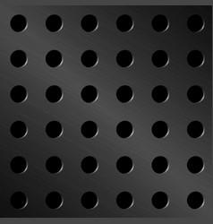 metal mesh texture background vector image