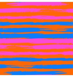 Vintage striped pattern with brushed lines vector image vector image