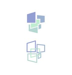 colorful future design vector image