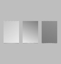 geometric gradient abstract line page background vector image
