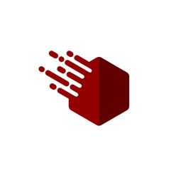 Hexagon logo template vector