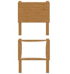 wooden board 01 vector image