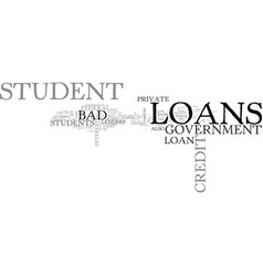 Which source is better for bad credit student vector