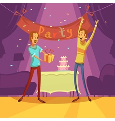 Friends And Party vector image