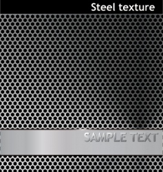 metal pattern grill texture vector image vector image