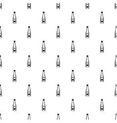 bottle of ketchup pattern vector image