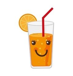 Citrus juice isolated icon design vector