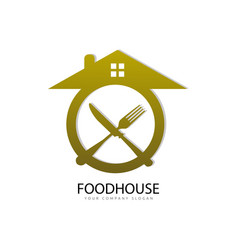 food house vector image