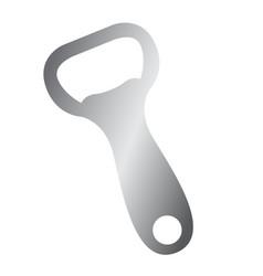 isolated bottle opener vector image