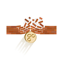 Omisego coin breaks through the wall resistance vector