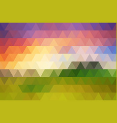 rhombic texture sunset vector image
