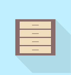 wardrobe icon set of great flat icons use for vector image