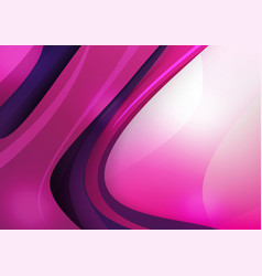 abstra background purple and pink curve and layed vector image