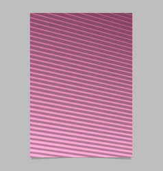 abstract geometric stripe pattern page template vector image