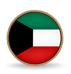 Kuwait Seal vector image