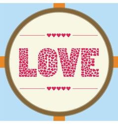 Love letter card4 vector image