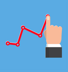 profit concept icon vector image