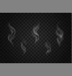smoke set vector image