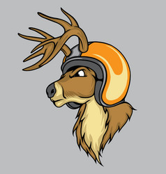 Speed deer vector