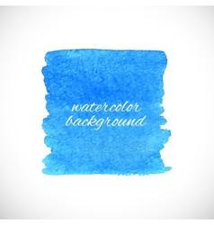 Splash watercolor element vector image