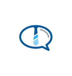 Talk job logo icon design vector