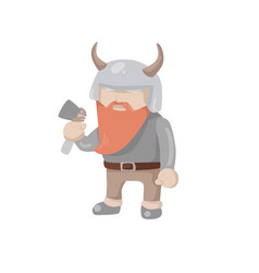 Viking isolated vector