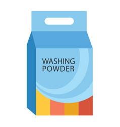 Washing powder vector