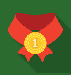 the gold awardmedal of medalistawards and vector image