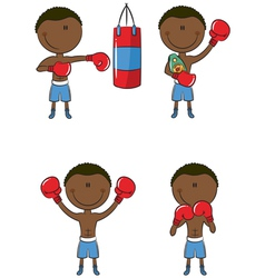 Boxers vector image