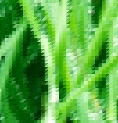 Grass themed background with triangular grid vector image vector image