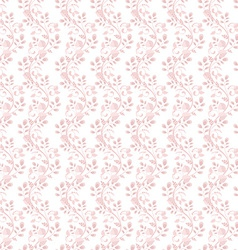 romantic pattern seamless texture vector image vector image