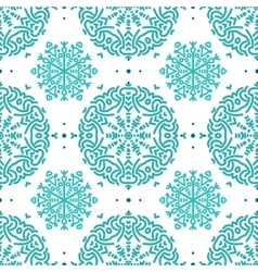 Colorful floral seamless patterns vector image