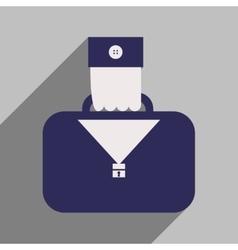 Flat design modern icon case vector image