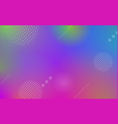 geometric abstract dynamic background vector image