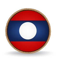 Laos Seal vector image