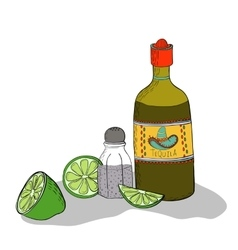 Mexican traditional drink vector
