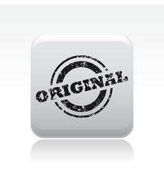 Original print icon vector