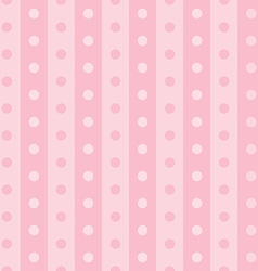 Popular pink vintage dots abstract pastel pattern vector