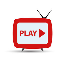 tv streaming vector image