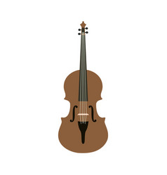 violin graphic design template isolated vector image