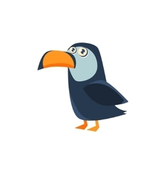 Toucan Toy Exotic Animal Drawing vector image