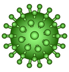 Abstract virus icon vector