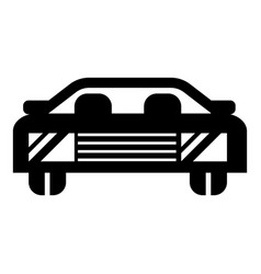 car icon simple style vector image